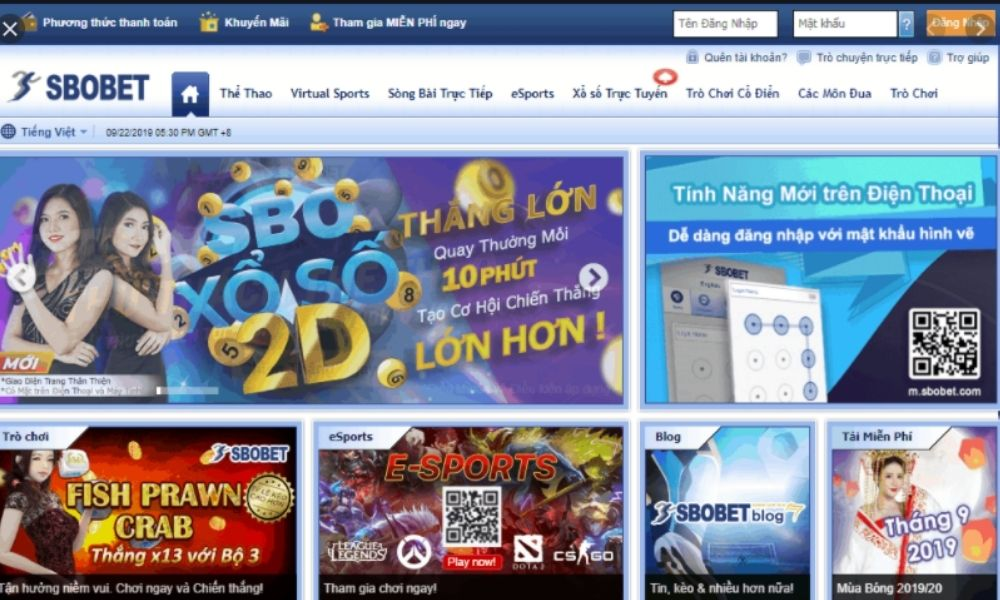 Giao diện website Com3456 Mobile