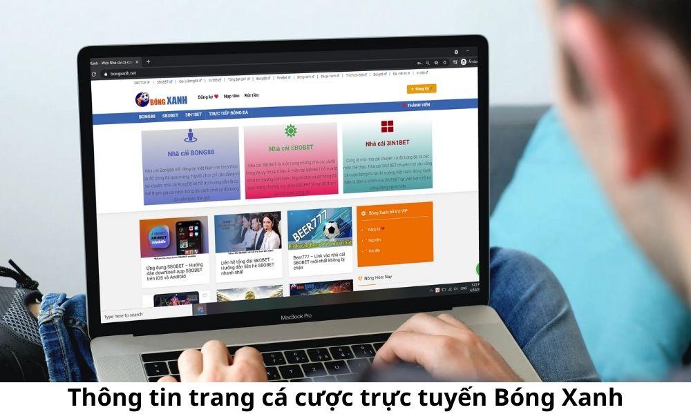 Thông tin trang cá cược trực tuyến Bóng Xanh